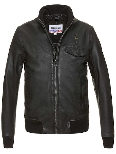 CARTER LEATHER BOMBER