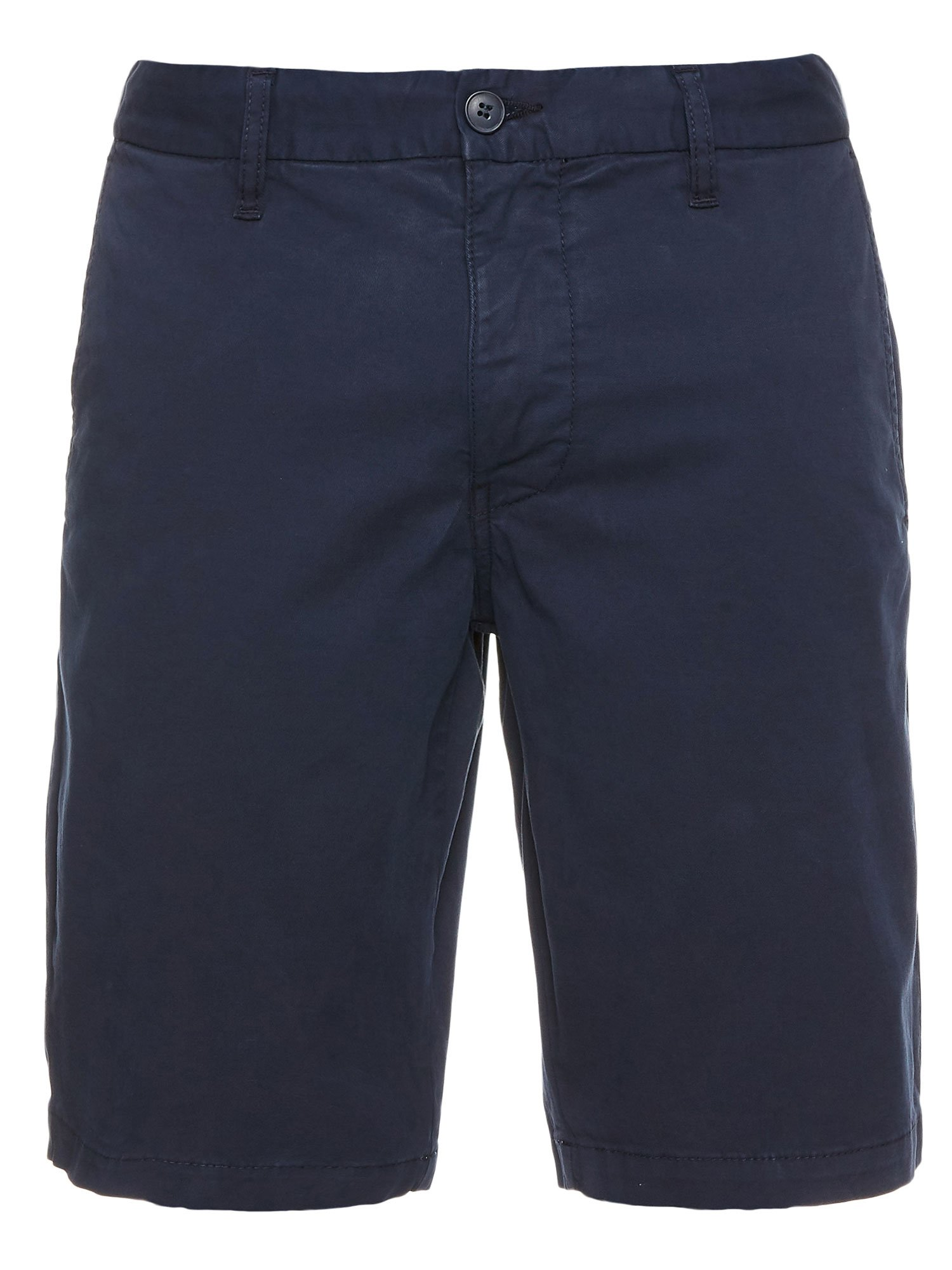 COTTON TWILL BERMUDA SHORTS - Blauer