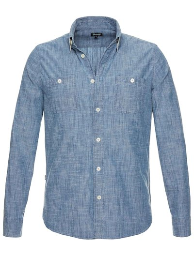 CAMICIA IN CHAMBRAY INDIGO