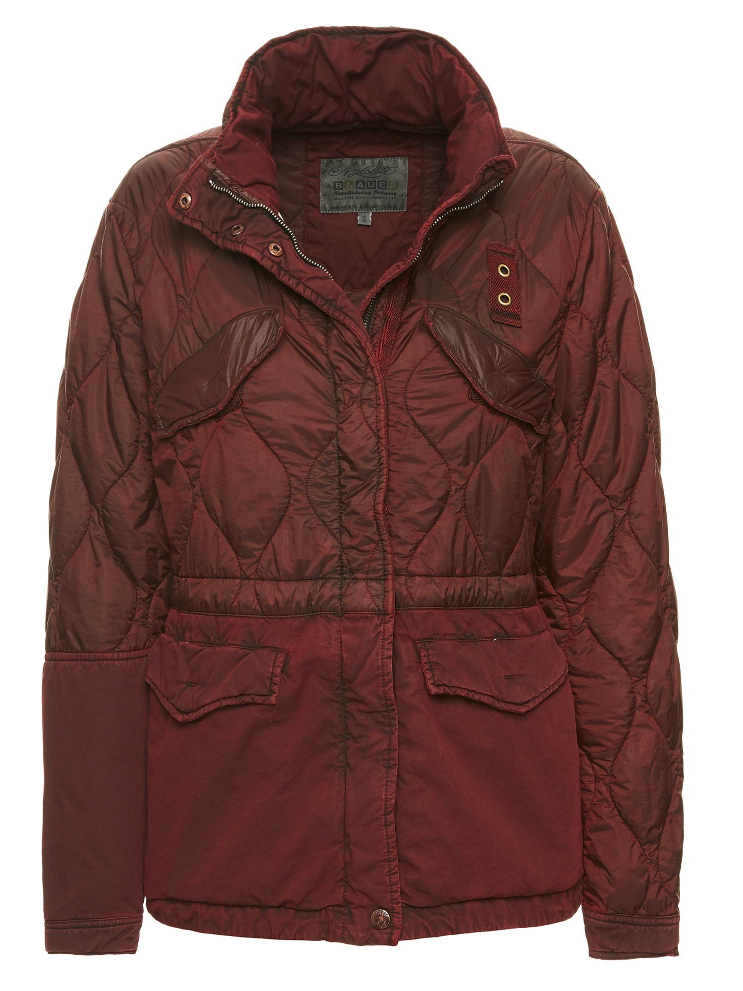 LIV PATCHWORK MILITARY JACKET - Blauer