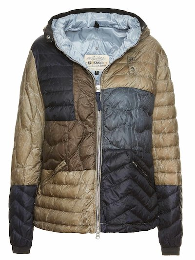 100 GR. DOWN JACKET ANNIE PATCHWORK