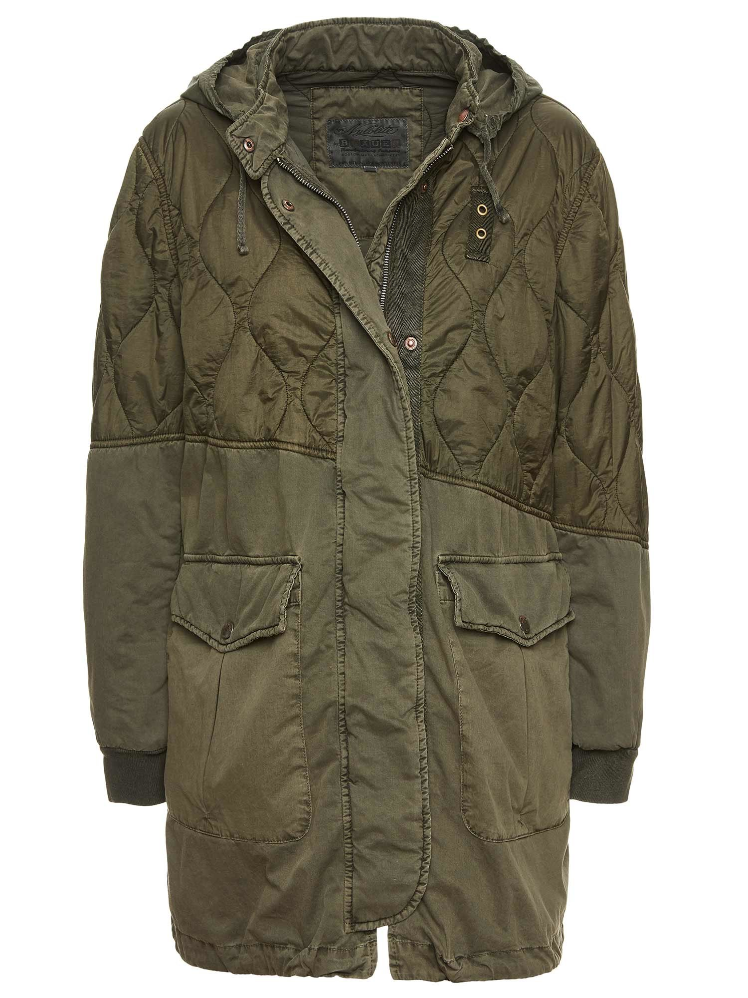 MILITARY GREEN PARKA CORA - Blauer