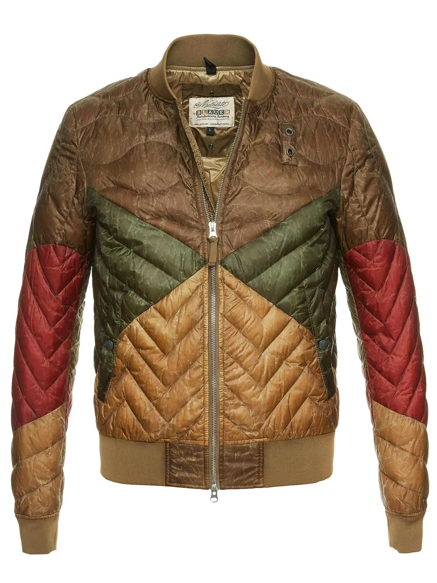 Blauer - ELLIOT DOWN BOMBER - Green Reef - Blauer