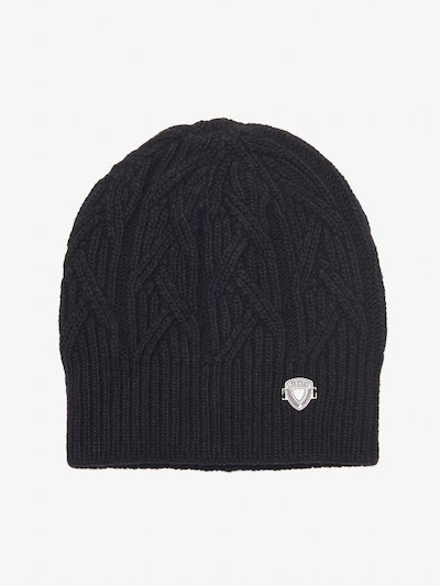 CABLE KNIT CAP__