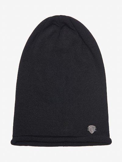 CASHMERE-WOOL TOQUE CAP