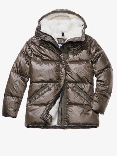 CARLOTTA DOWN JACKET WITH FAUX FUR LINING