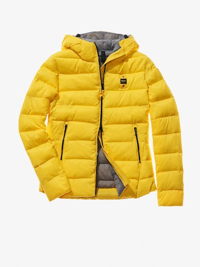 ANNA HOODED ECO-DOWN JACKET