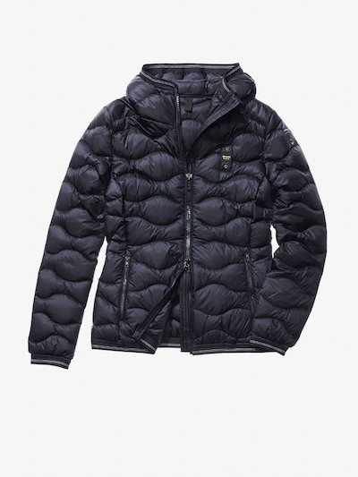 GAIA WAVE-QUILTED MILITARY-STYLE DOWN JACKET__