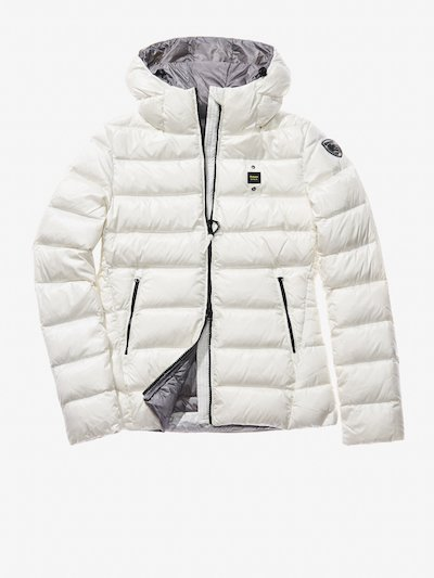 CHIARA QUILTED DOWN JACKET WITH ATTACHED HOOD