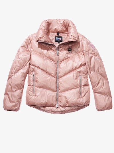 NICOLE SHINY FLARED DOWN JACKET