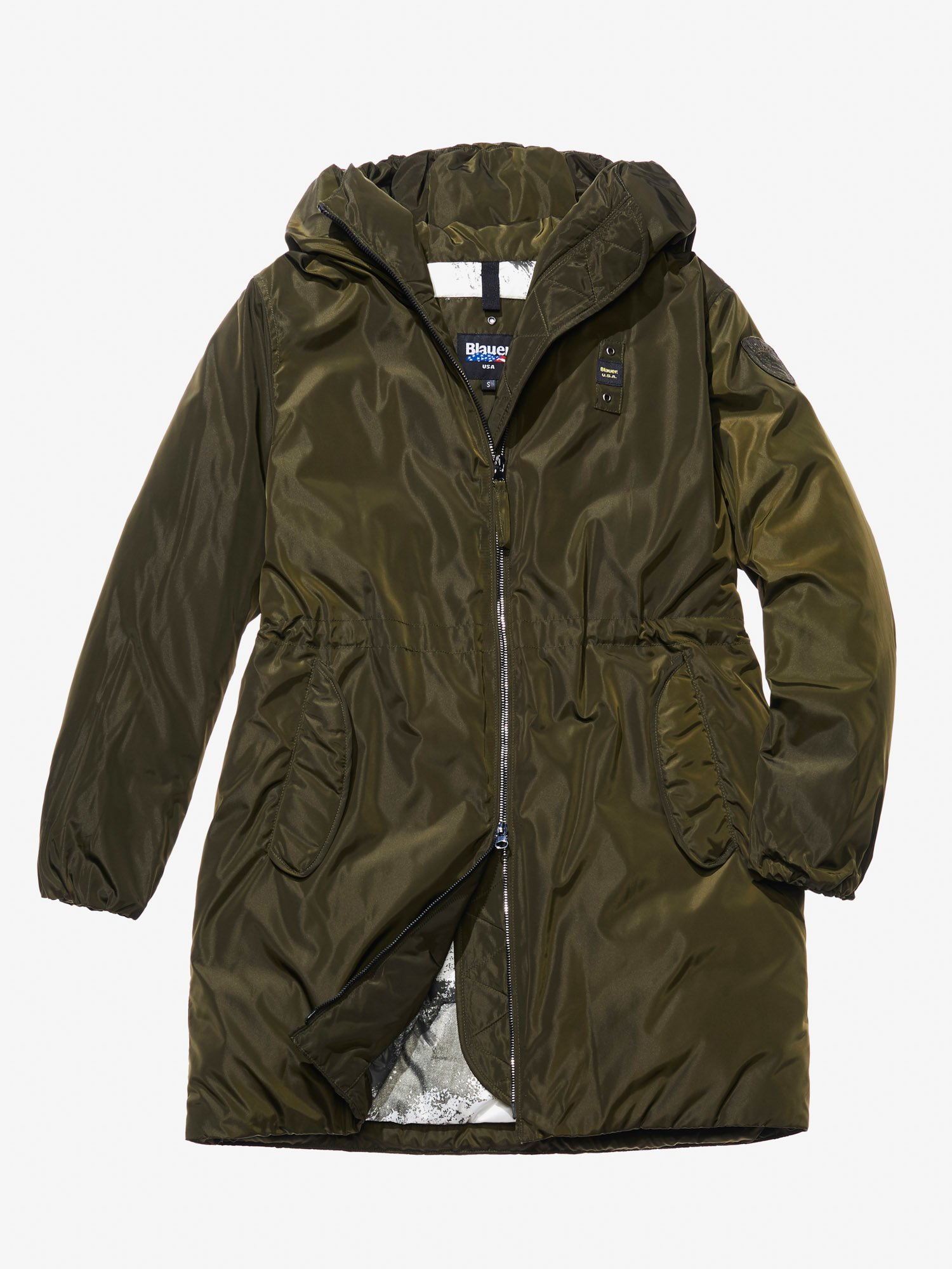 RACHELE PADDED PARKA WITH HOOD - Blauer
