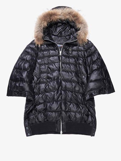 VIOLA DOWN CAPE JACKET