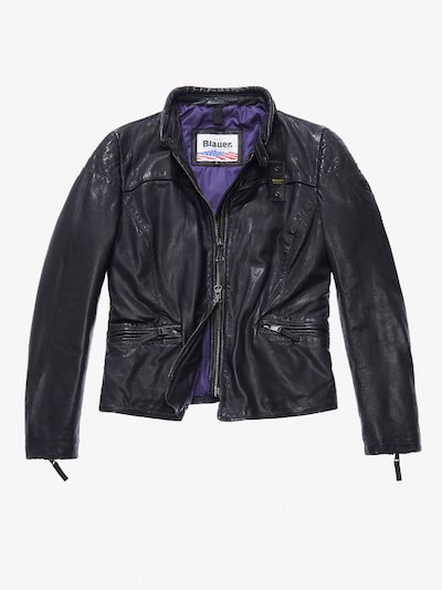 MARTA LEATHER BIKER JACKET