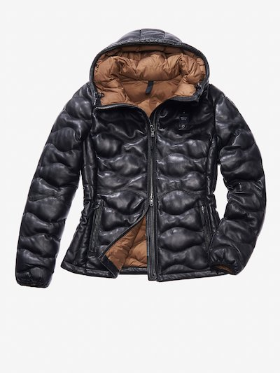 GIOIA PADDED LEATHER JACKET