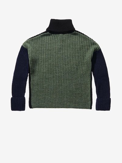 MULTICOLOUR TURTLENECK