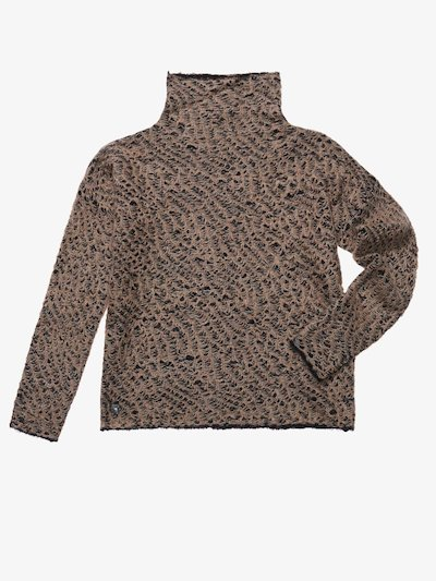 WOOL MOHAIR SWEATER
