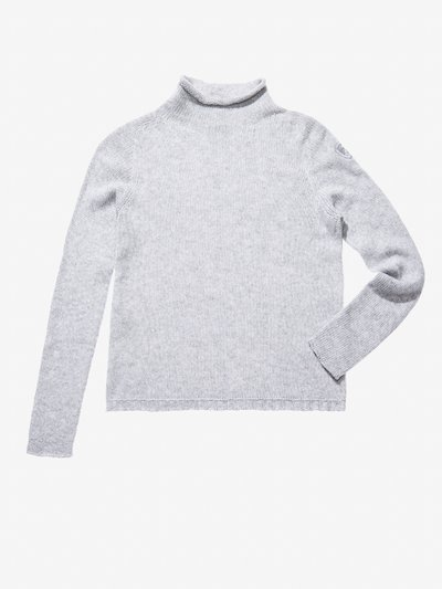 STOCKING STITCH KNIT TURTLENECK__