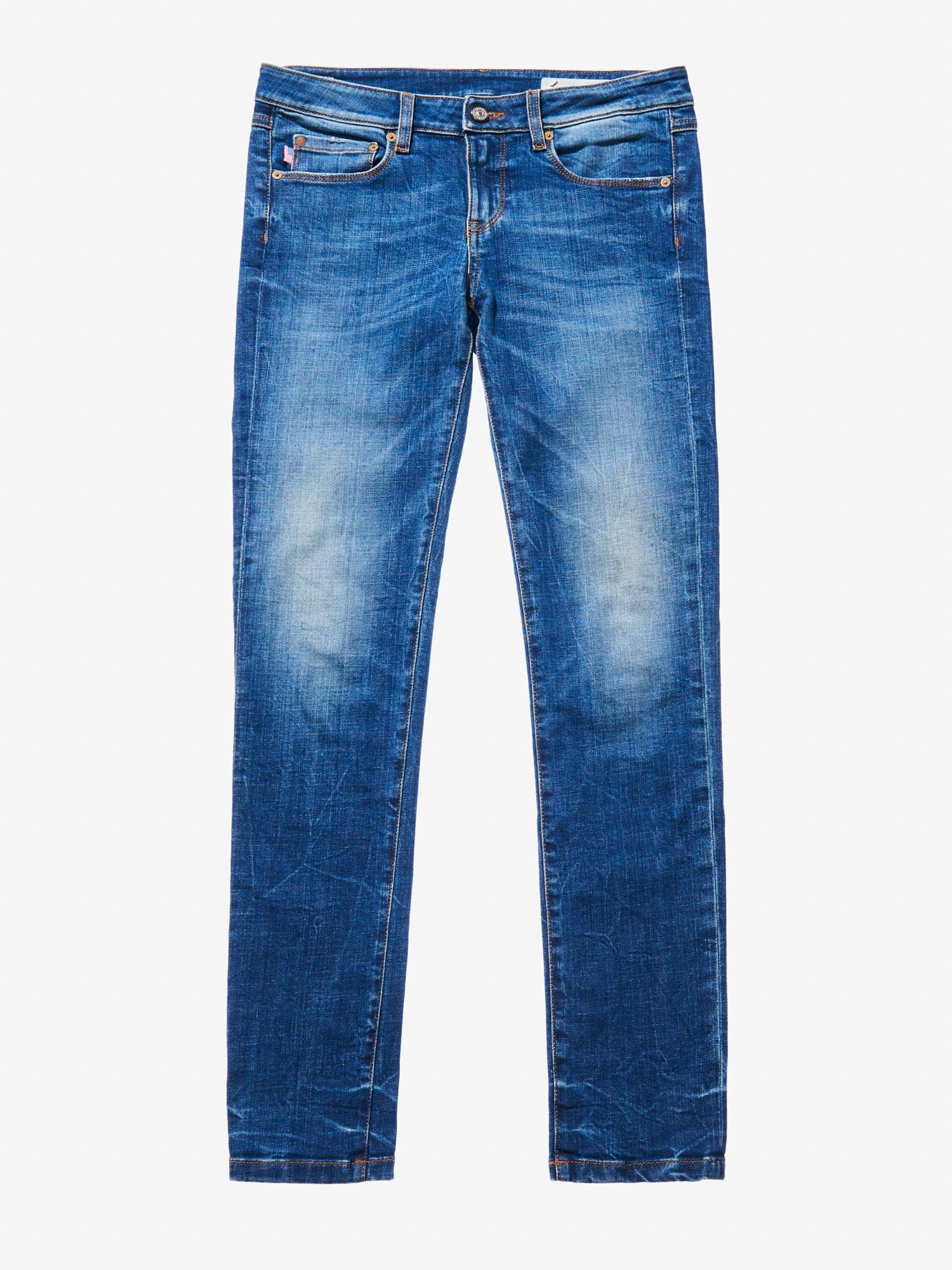 DENIM BOOT CUT - Blauer