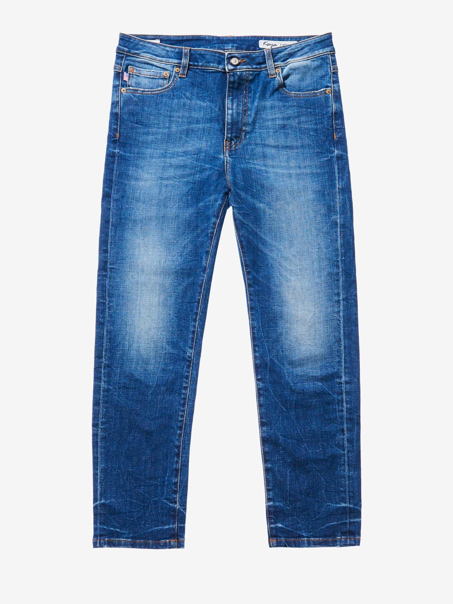 Blauer - USED STRETCH DENIM - Denim Washing - Blauer