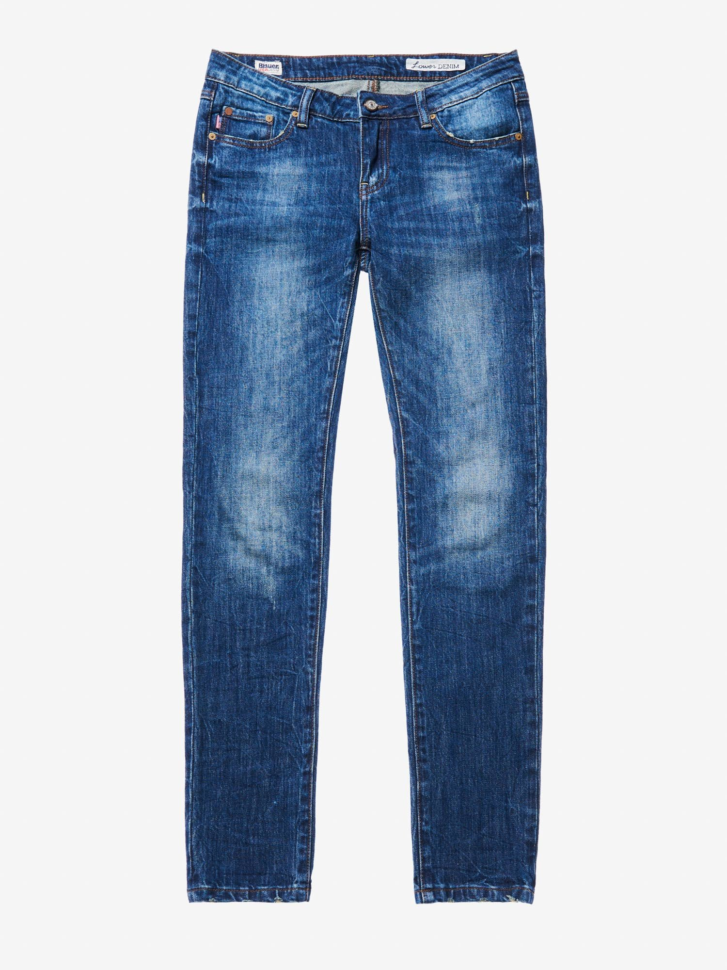 Blauer - LIGHT SKINNY DENIM - Stone Washed - Blauer