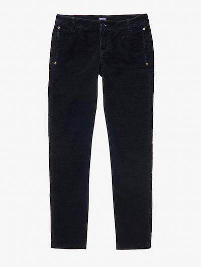 PANTALONE IN VELLUTO MILLE RIGHE