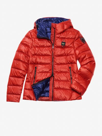 ARIA DOWN JACKET WITH ATTACHED HOOD