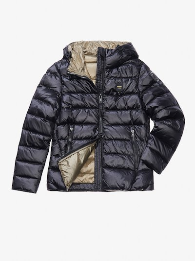 ARIA DOWN JACKET WITH ATTACHED HOOD__