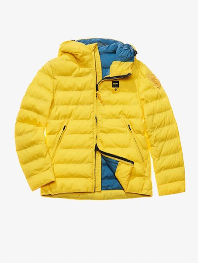 JAGO NYLON MICRO RIP DOWN JACKET WITH HOOD