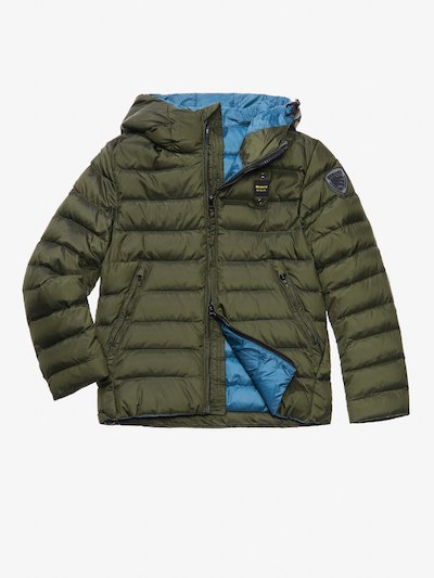 ACHILLE DOWN JACKET WITH HOOD