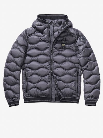 ORLANDO WAVE-QUILTED DOWN JACKET WITH HOOD