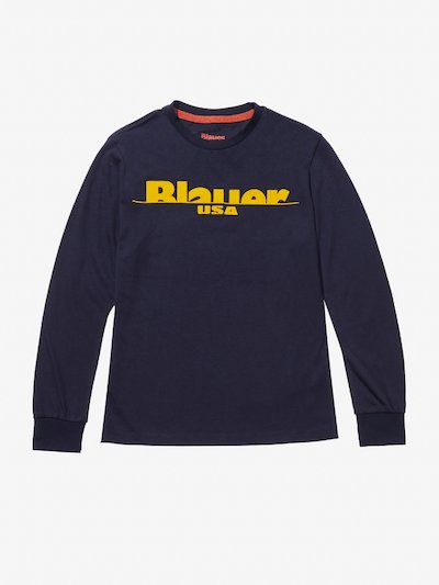 CARBON COTTON JERSEY SWEATER
