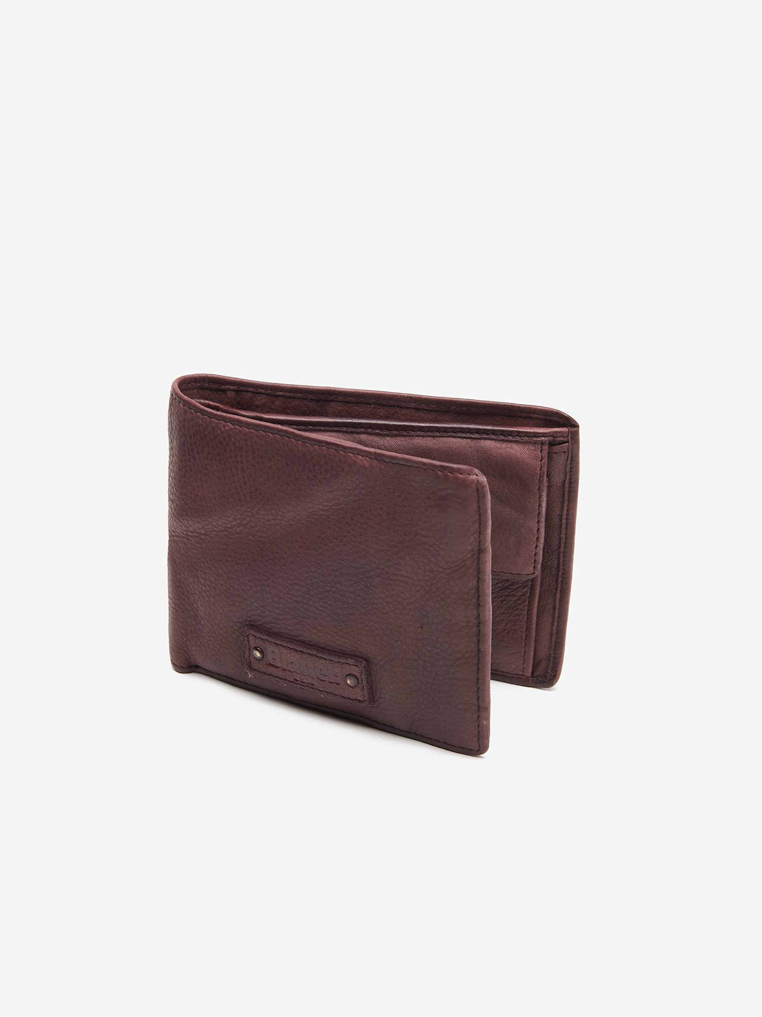 WALLET IN CALF LEATHER - Blauer