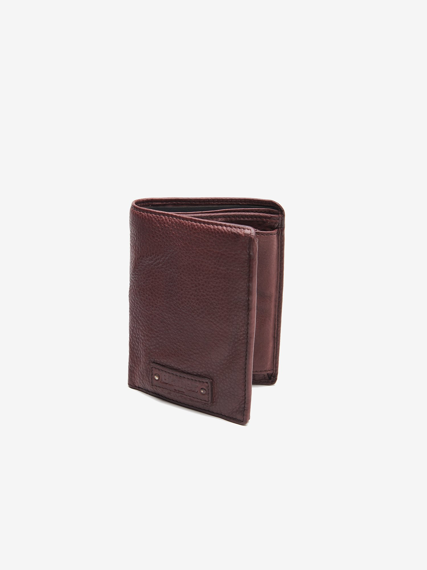 Blauer - SMALL LEATHER WALLET - chestnut brown - Blauer