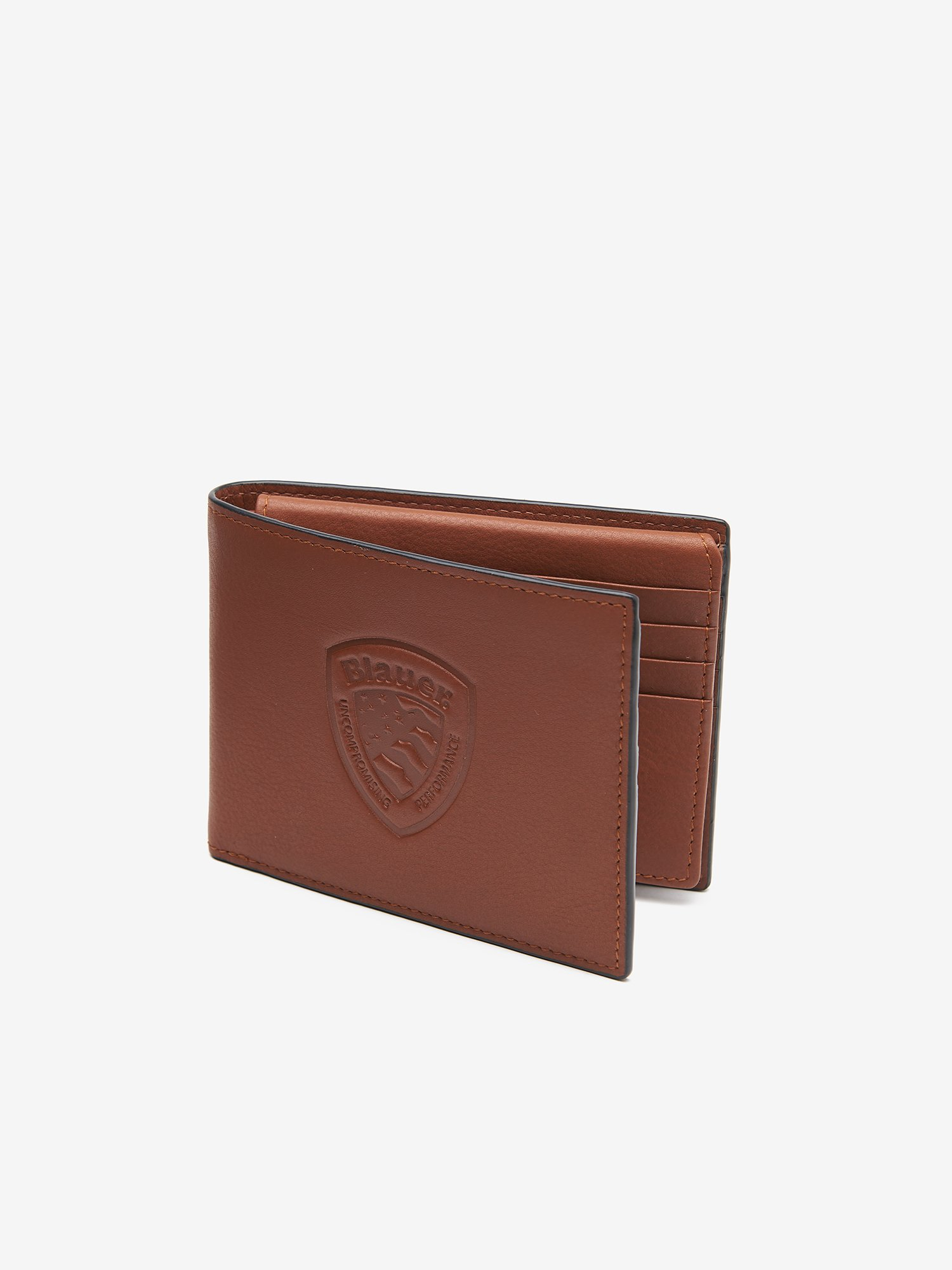 WALLET WITH BLAUER SHIELD - Blauer