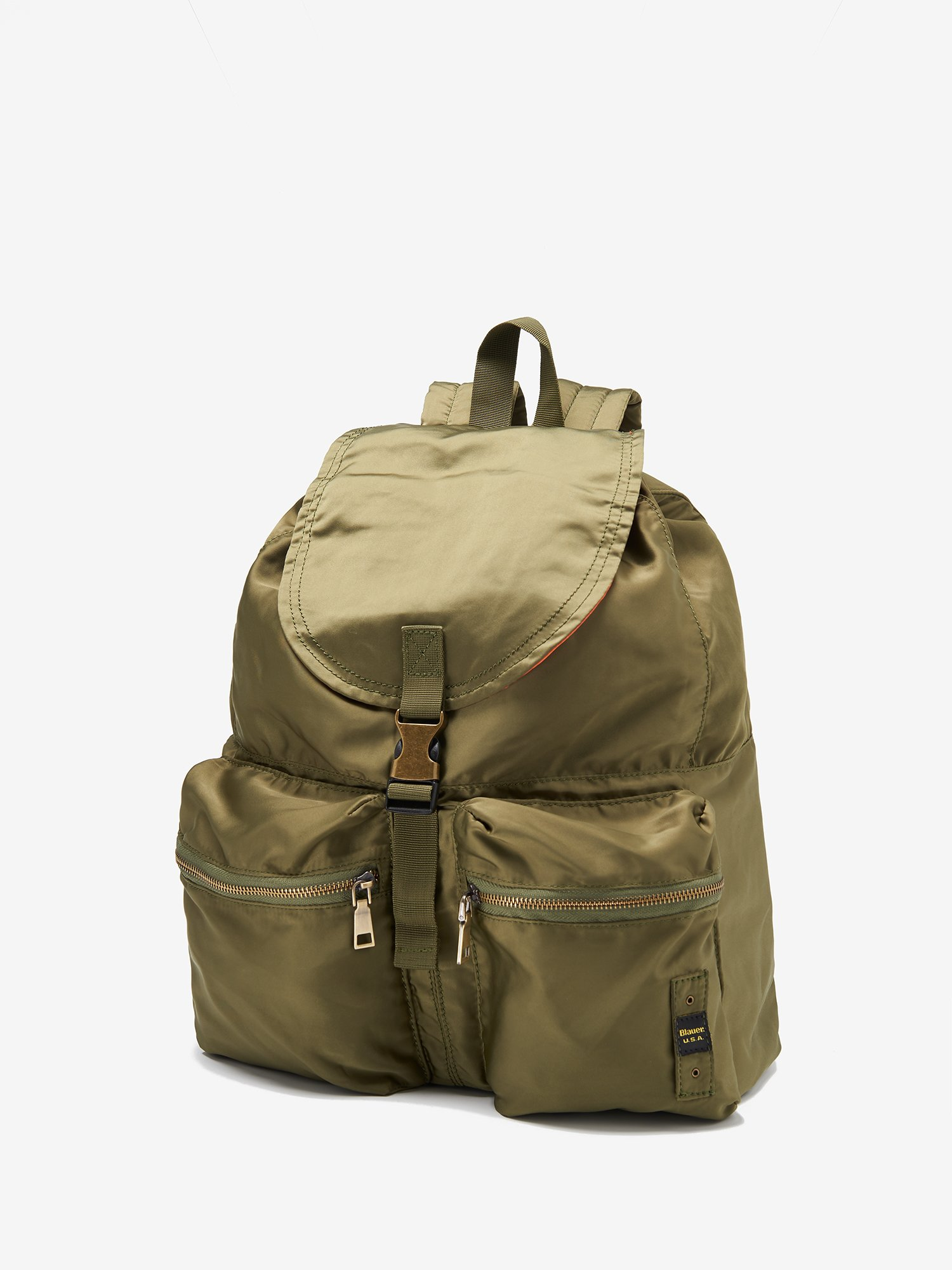 Blauer - ULTRA-LIGHT SPORTY BACKPACK - Green Alligator - Blauer