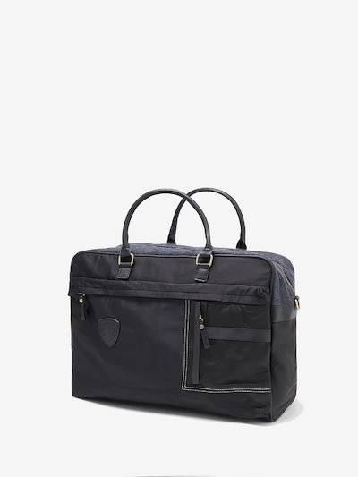 XL BRIEFCASE WITH HANDLES AND SHOULDER STRAP