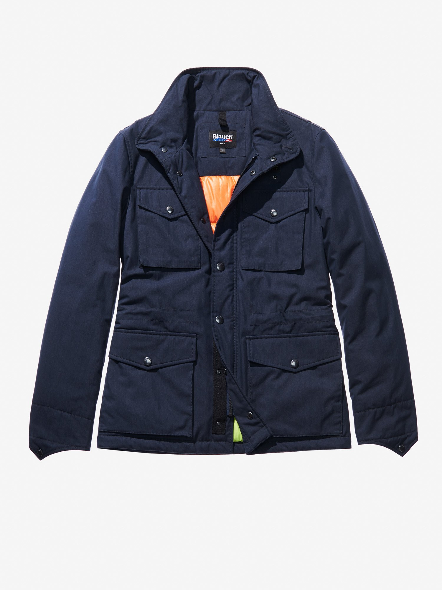 FIELD JACKET IN COTONE E NYLON PAOLO - Blauer
