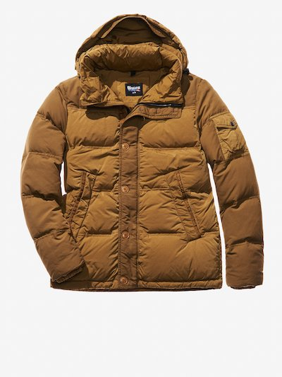 MATTEO GARMENT DYED DOWN JACKET