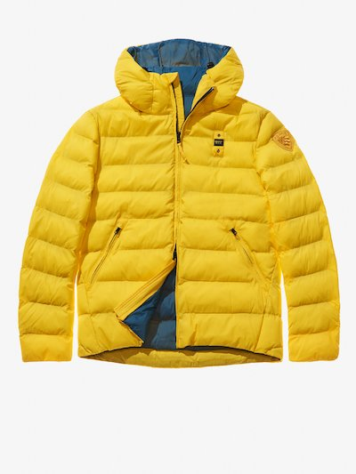 ANTONIO MICRO RIP NYLON DOWN JACKET WITH HOOD__