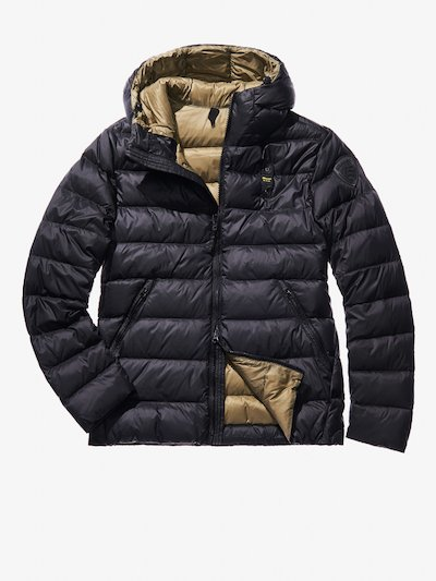 RICCARDO ULTRA LIGHT DOWN JACKET WITH ATTACHED HOOD