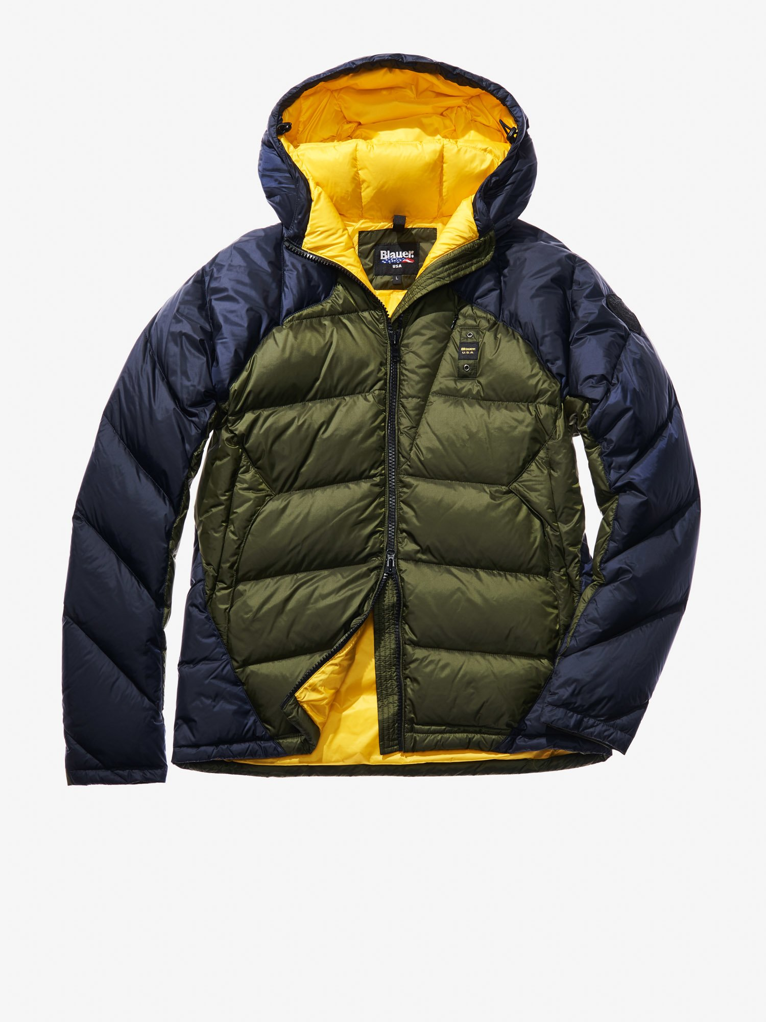 DIEGO TWO-TONE DOWN JACKET - Blauer