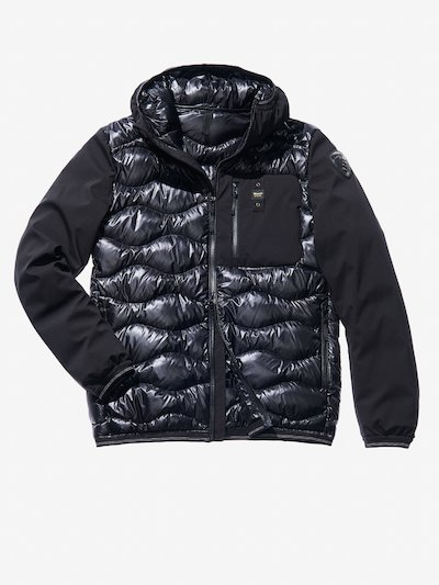 VINCENZO WAVE-QUILTED MICRO RIP DOWN JACKET