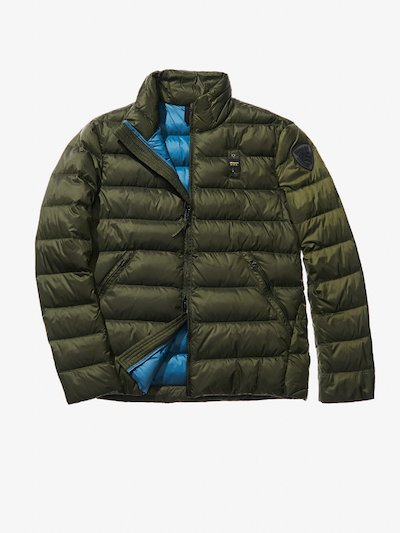 LUCA SHORT JACKET WITH DUCK DOWN FILL