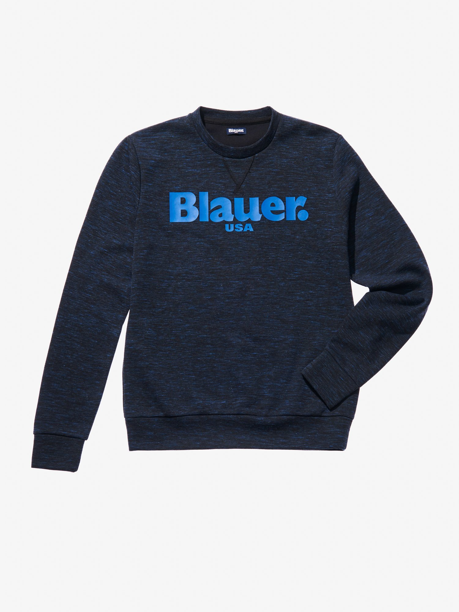 SLUB CREW NECK SWEATSHIRT - Blauer