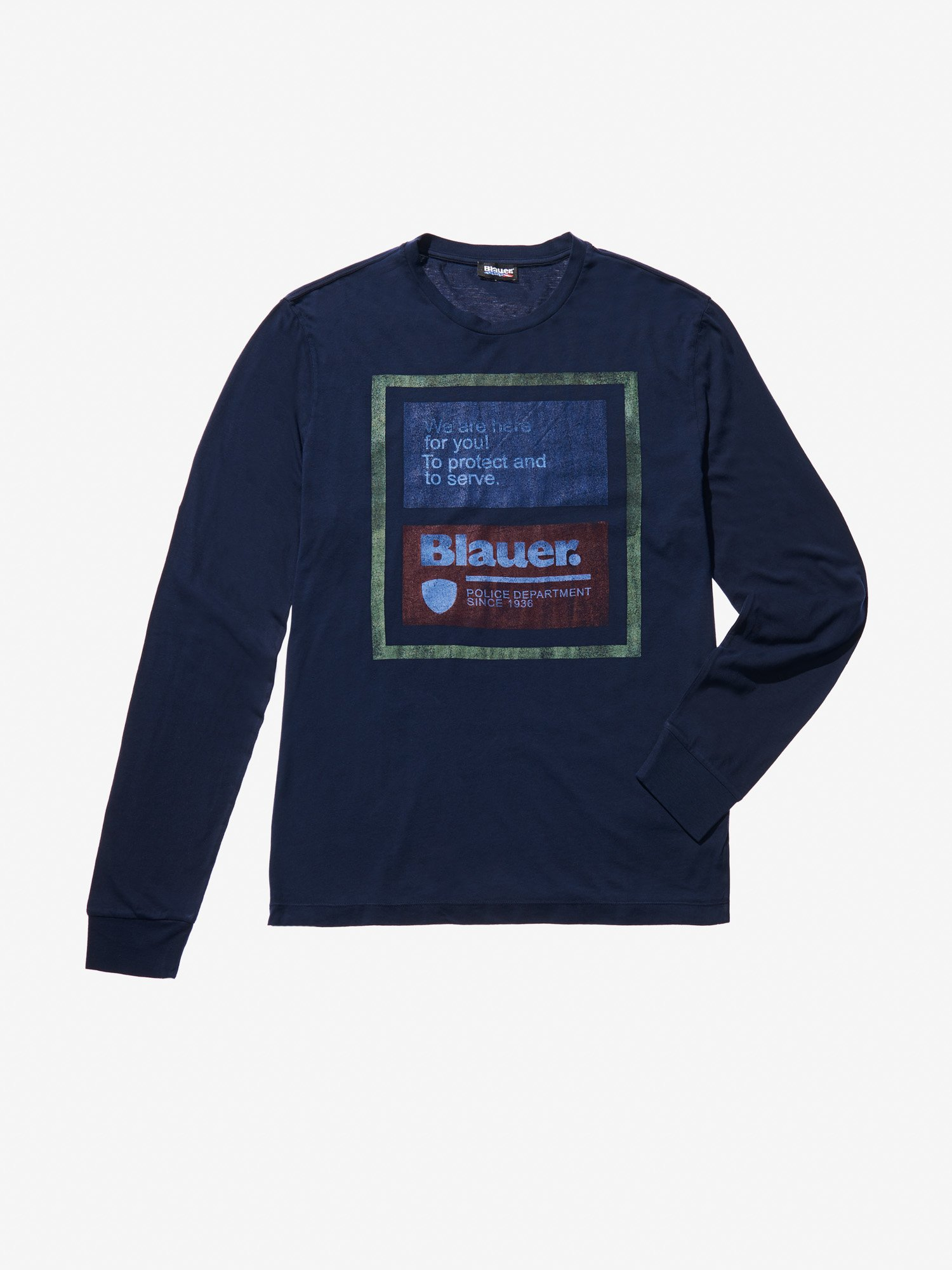 Blauer - PROTECT AND SERVE SWEATER - blue - Blauer