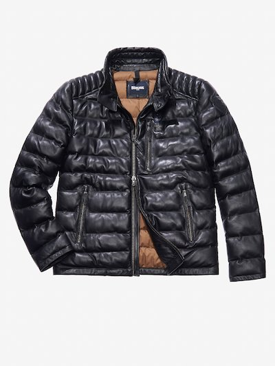 MARIO PADDED LEATHER JACKET
