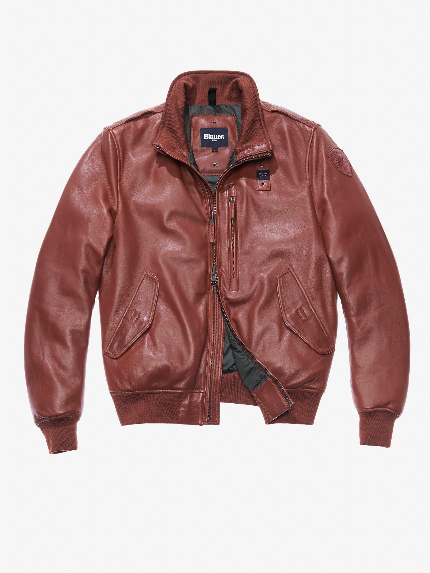 Giacche Giubbotti Uomo ® Pelle Shop E Usa Blauer Online aaq5Hr
