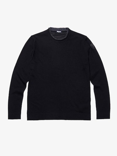PULL COL ROND LAINE CASHMERE