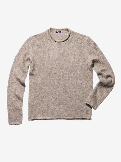 WOOL COTTON SWEATER