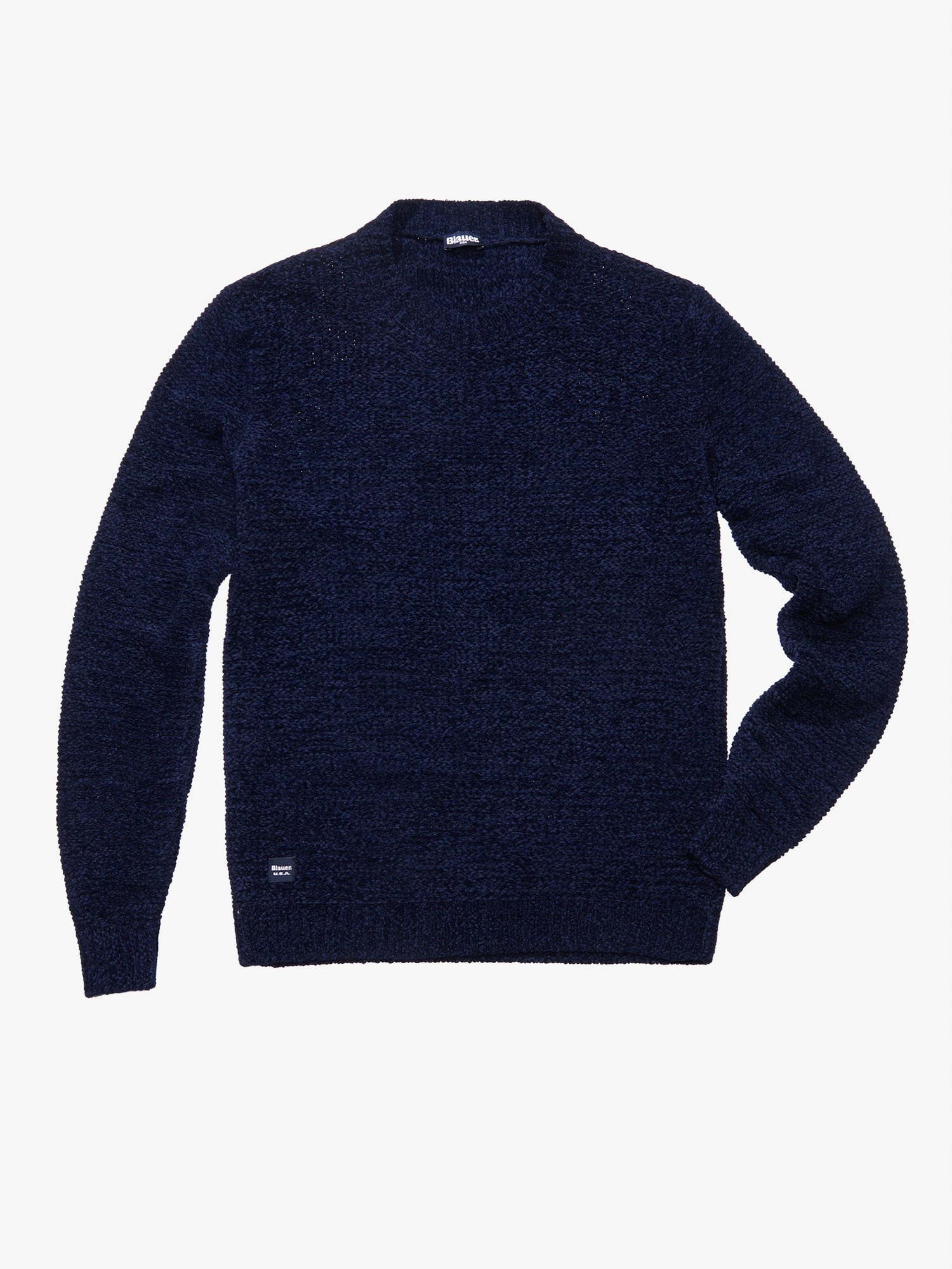 Blauer - CHENILLE SWEATER - Baltic Sea - Blauer